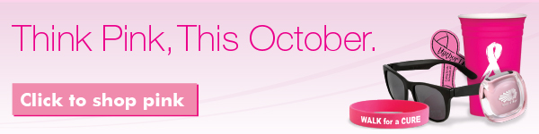 Think Pink,This October,Click to shop pink