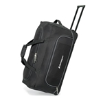 Promotional gemline-express-wheeled-duffel-black
