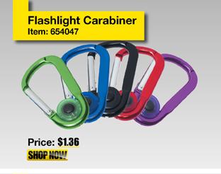 Flashlight Carabiner