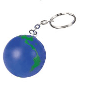Global Stress Reliever Key Chain
