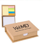 Recycled Sticky Note Memo Case