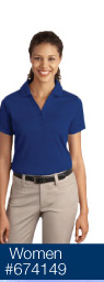 Port Authority Ladies Silk Touch Interlock Polo