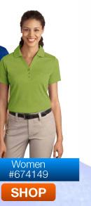Port Authority Port Authority Ladies Silk Touch Interlock Polo