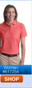 Port Authority Port Authority Ladies Silk Touch Polo