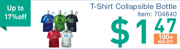 T-shirt Collapsible Bottle