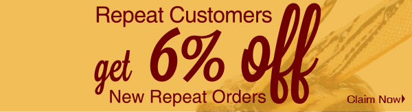 Repeat Customer get 6% Off