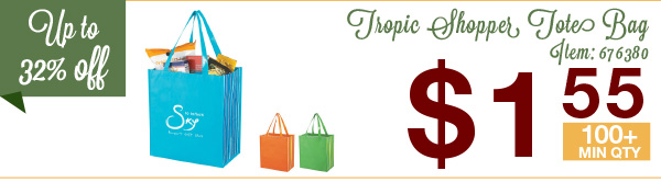Tropic Shopper Tote Bag