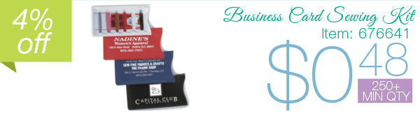 Business Card Sewing Kit