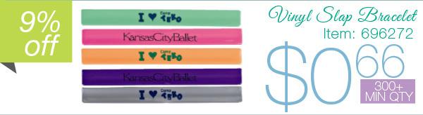 Vinyl Slap Bracelet
