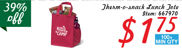 Therm-o-snack Lunch Tote