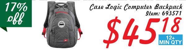 Case Logic Computes Backpack