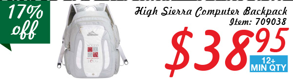 High Sierra Computes Backpack