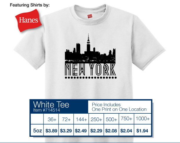 Hanes® - ComfortSoft® Heavyweight 100% Cotton T-Shirt