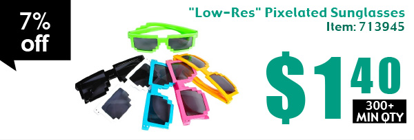 """Low-Res"" Pixelated Sunglasses"