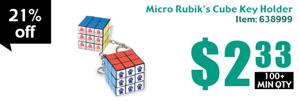 Prime Micro Rubik's Cube Key Holder