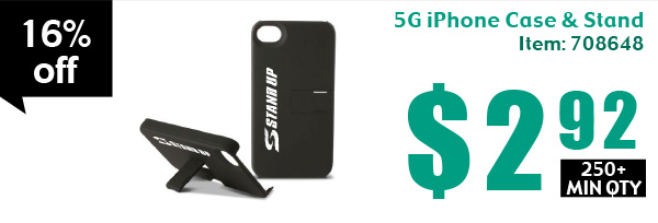 5G iPhone Case & Stand