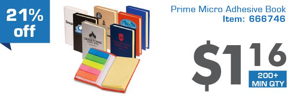 21%off Prime Micro Adhesive Book