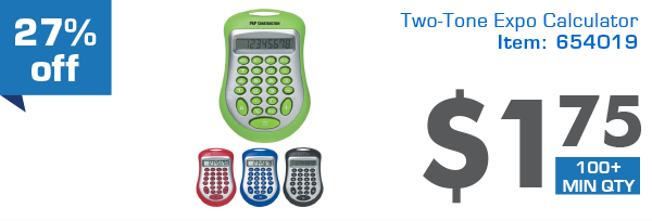 27% off Two-Tone Expo Calculator