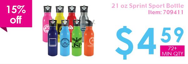 15% off 21oz Sprint Sport Bottle