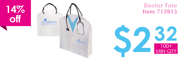 14% off Doctor Tote