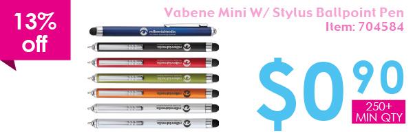13% off Vabene Min W/Style Ballpoint Pen