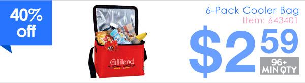6-Pack Cooler Bag