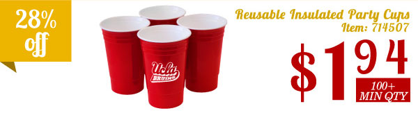 Reusable Insulated Party CUP