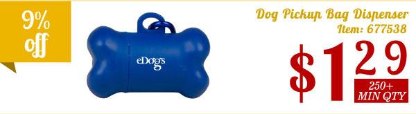 Dog Pickup Bag Dispenser