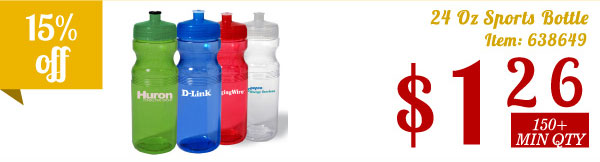 24 Oz Sports Bottle