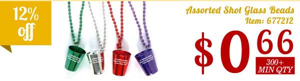 Assorted Shot Glass Beads