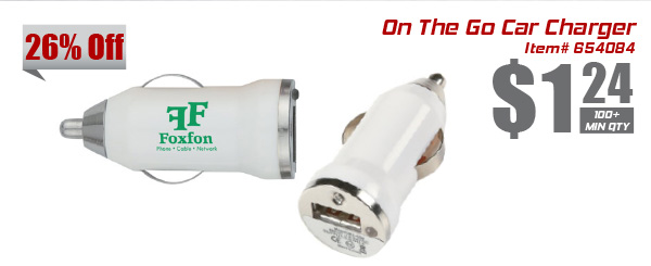 On The Go Car Charger