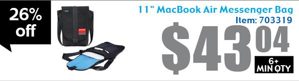 """11"""" MacBook Air Messenger Bag"""