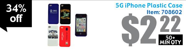 5G iPhone Plastic Case