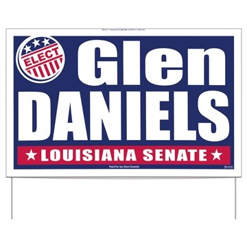 Double-Sided Yard Signs